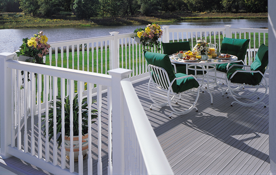 CertainTeed Oxford White Railing